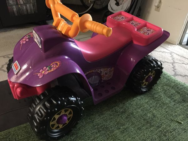 Dora The Explorer Power Wheel Atv For Sale In Orlando Fl Offerup