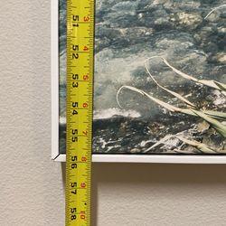 Beach Canvas With White Frame Thumbnail