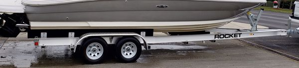 2019 rocket aluminum double axle trailer - 24-26 feet