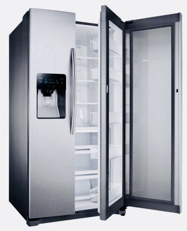 New Samsung Side By Side Stainless Steel Refrigerator For Sale In