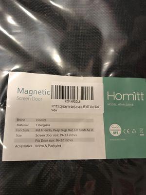 Magnetic Screen Door Fits 36 X 82 Inch Door New For Sale In Oakdale