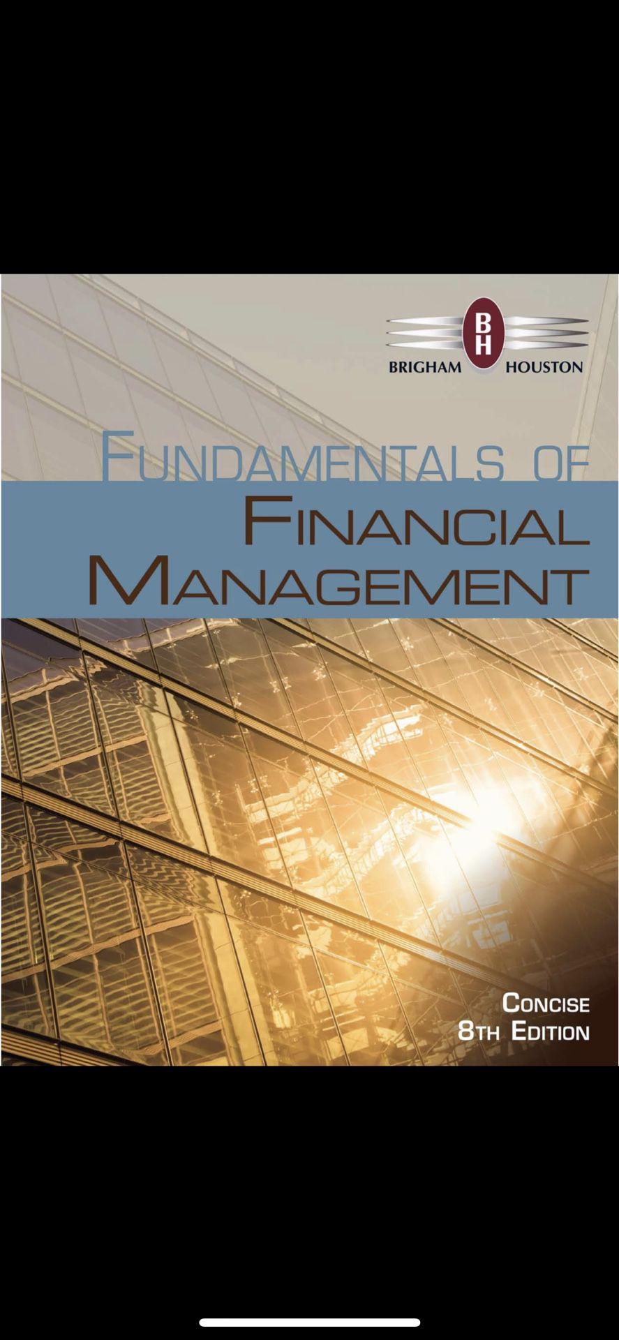 Fundamental of Financial Management 8th Edition PDF