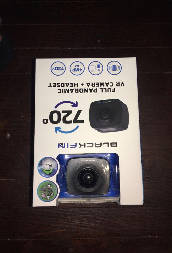 Blackfin 720 vr camera and headset for Sale in Oak Forest, IL - OfferUp