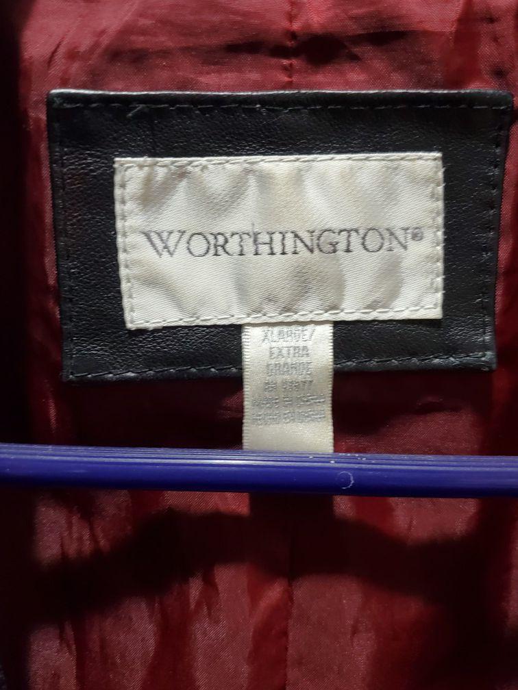 XL Worthington Leather Jacket