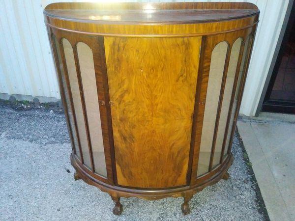 Antique Curio Cabinet by C.W.S. LTD Cabinet Factory Hay Mills Birmingham ( Antiques) in St. Louis, MO - OfferUp - Antique Curio Cabinet By C.W.S. LTD Cabinet Factory Hay Mills