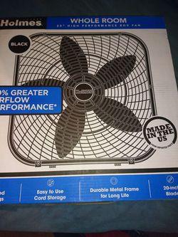 Holmes box fan Thumbnail
