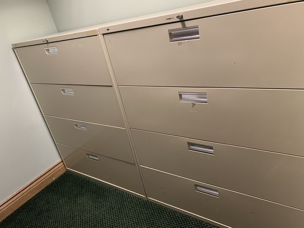 Large Filing Cabinets Office Furniture For Sale In Los Angeles Ca Offerup