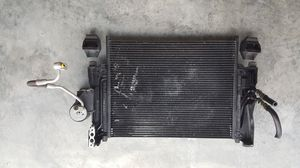 Photo BMW 325i A/C radiator with power steering fluid tank