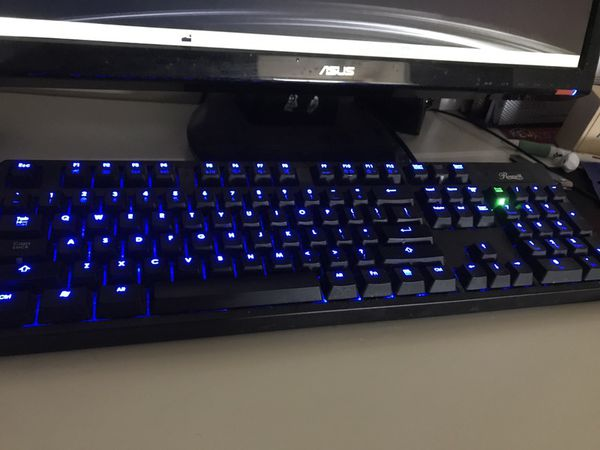 96644846e04 Rosewill mechanical gaming keyboard with cherry max brown switches ...
