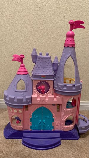 Photo Fisher Price Little People Disney Princess Castle/Ariel's Castle