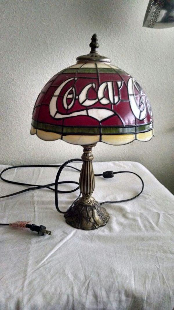 Tiffany Style Coca Cola Lamp For Sale In Everett Wa Offerup