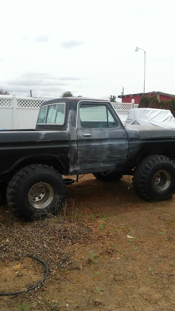 ford 77 high boy suoer lift 40 tire no miles 351m engine headers
