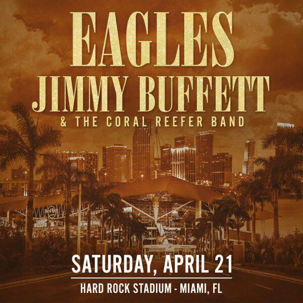 1977 Was The Year Jimmy Finally Hit It Big Caught A Wave At Ning Of As He Opened For His Good Friends Eagles On There Hotel