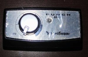 Rockford Fosgate Remote Punch Bass PB1 for Sale in Milwaukie, OR
