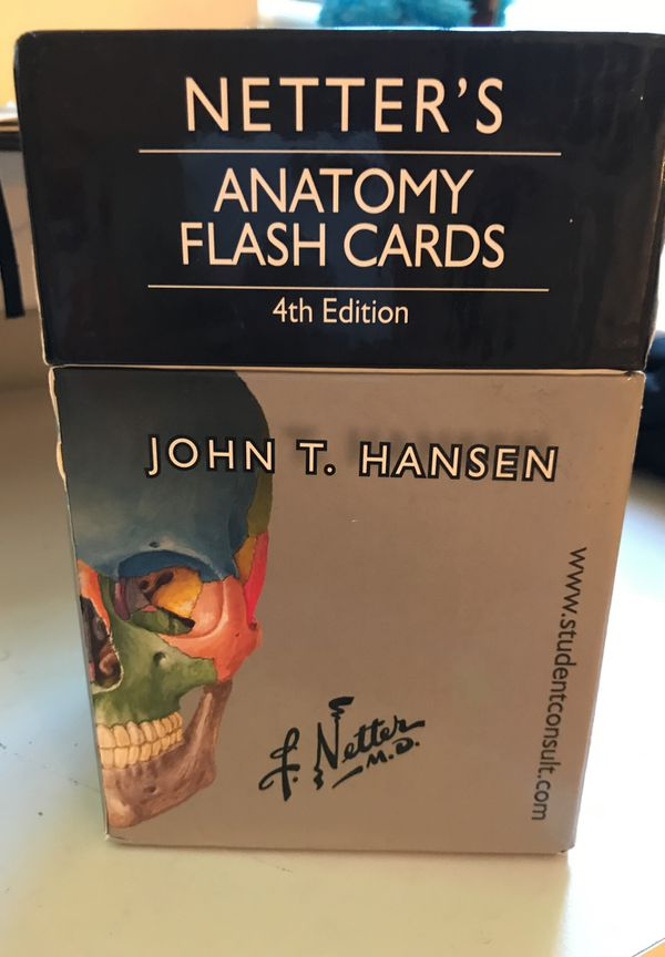 Netter\'s Anatomy Flashcards for Sale in New Britain, CT - OfferUp