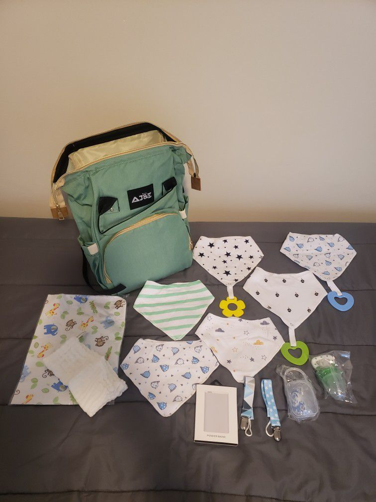 Diaperbag With USB port