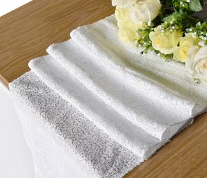 50 White Sequin Table Runners 12 X 96 For In Irvine Ca
