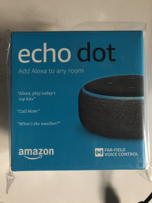 Echo dot 3rd gen for Sale in Fountain Valley, CA