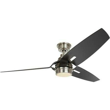 Iron crest 60 in led dc motor indoor brushed nickel ceiling fan for sale in las vegas nv offerup