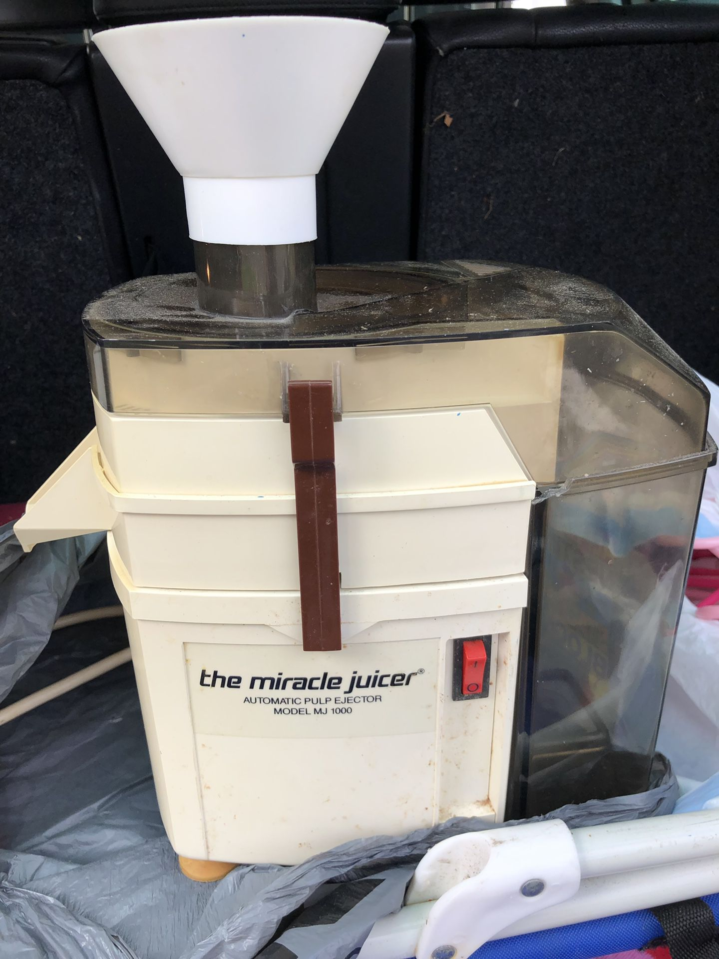 The Miracle Juicer used condition was in storage