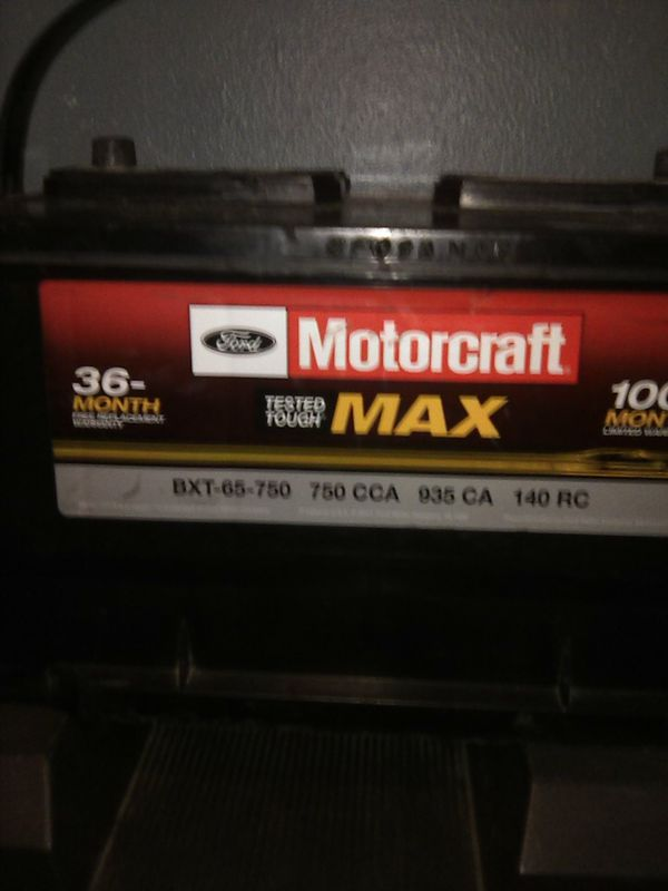 Ford Motorcraft Tested Tough MAX Bxt 65 750 For Sale In Modesto CA OfferUp