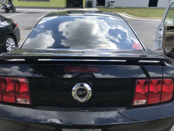 2006 Mustang Gt Factory Spoiler