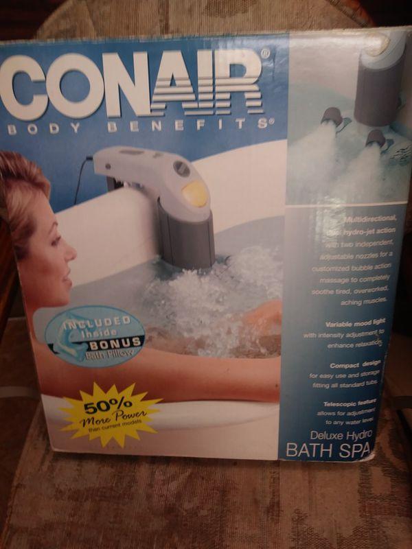 Conair Body Benefits Deluxe Hydro Bath Spa 50% More Power Than ...