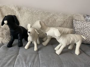 *NEW Dog Mannequins | Hand-made | Bendable | Pleather for Sale in Tampa, FL