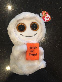 TY beanie baby Halloween trick-or-treat doll Limited seasonal rare Thumbnail