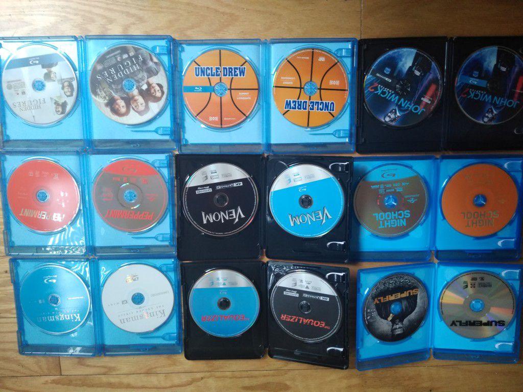 Brand new Blu-ray DVDs