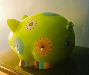 Large pig piggy bank Thumbnail