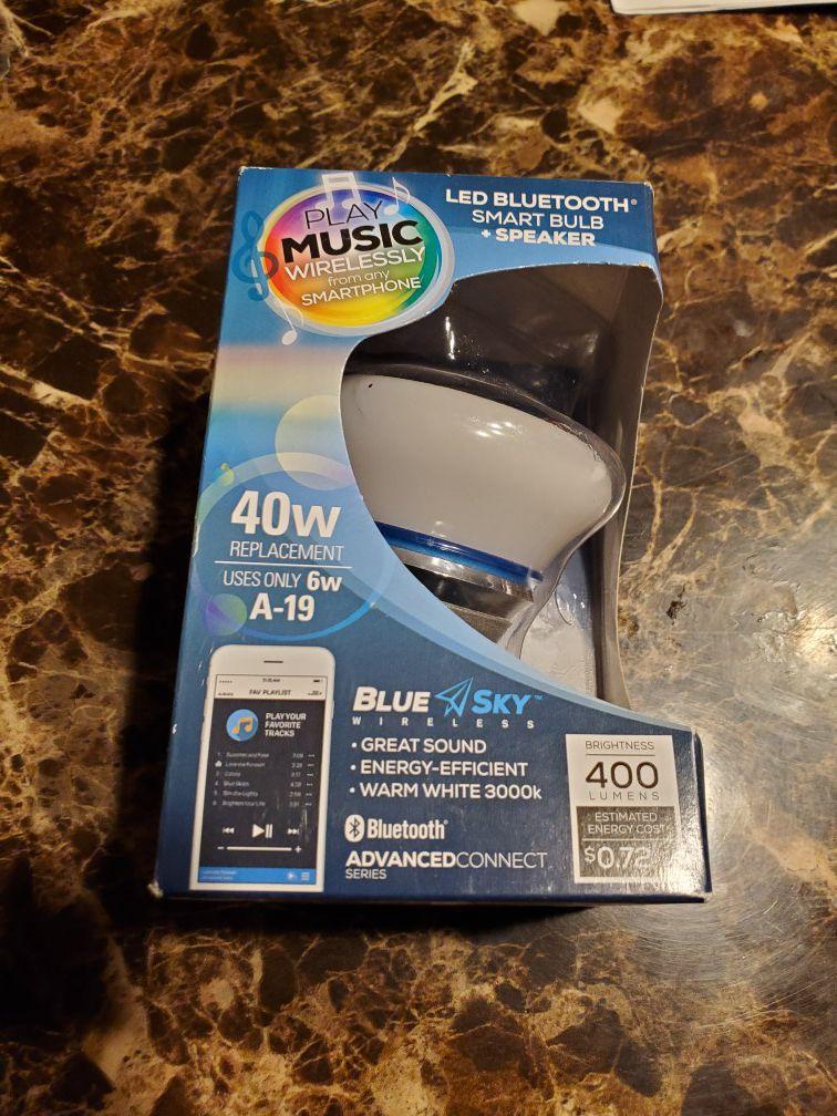 LED Smart Blub with Bluetooth