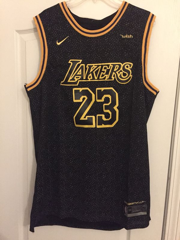 designer fashion 19a09 5701a Lebron James Black Laker Jersey for Sale in Fort Mill, SC - OfferUp