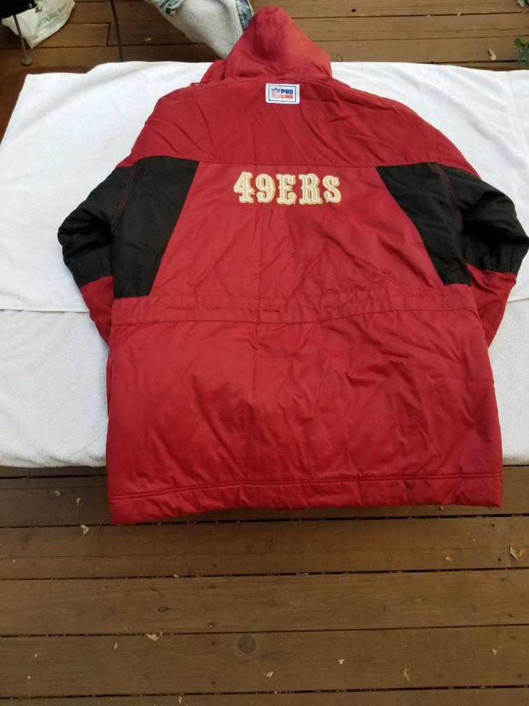 Vintage reebok 49ers jacket