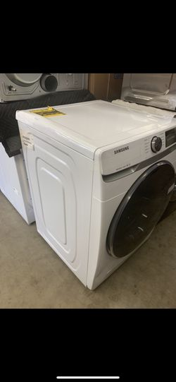 Washer Front Load Steam Samsung 4.5 Cu Ft White  Thumbnail