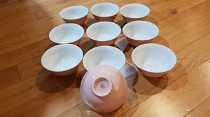 Lovely pink China set from 1970's Macao. for Sale in Seattle, WA