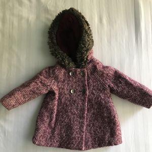 Zara Baby Girl coat, size: 12-18M, 86cm for Sale in Fairfax, VA