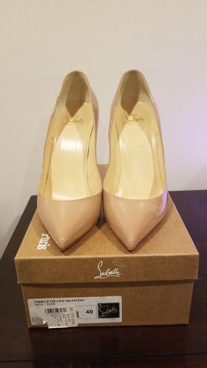 Christian Louboutin, Pigalle nude size 40 for Sale in Washington, DC