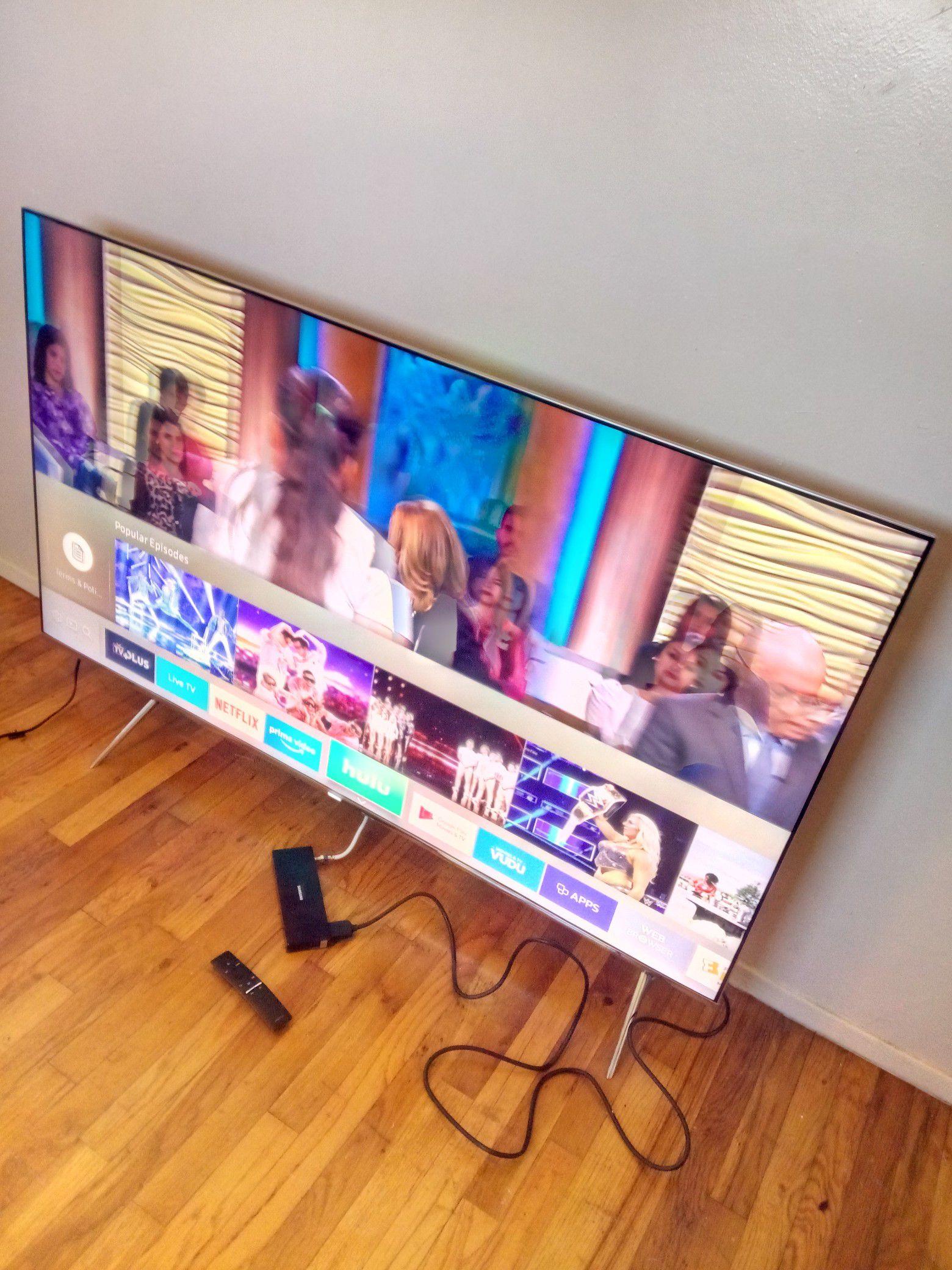 """55"""" SAMSUNG LED SMART 4K ULTRA HDTV HDR ( KS8000 )"""