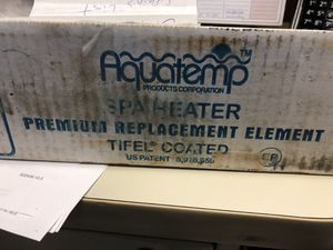 Aqua temp spa heater element for Sale in Monaca, PA