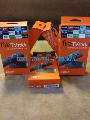 Unlocked Amazon Fire TV Stick for Sale in Riverdale, GA