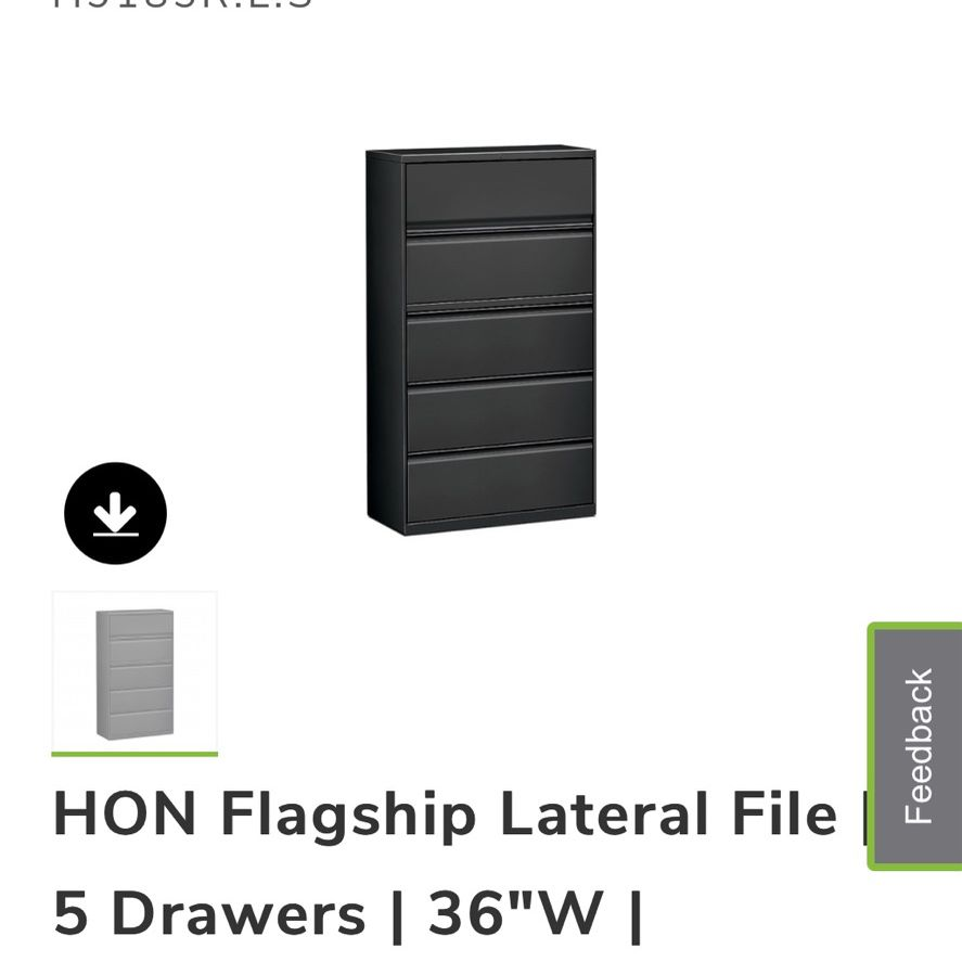 3 HON Flagship File Storage Units