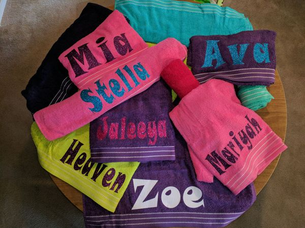 Personalized Beach Towels For Sale In Dayton Oh Offerup