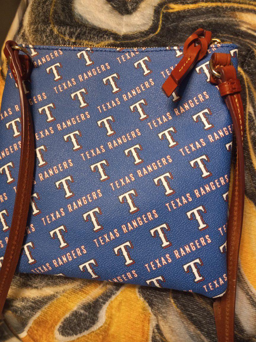 Texas Rangers Collectable Dooney And Burk Crossbody