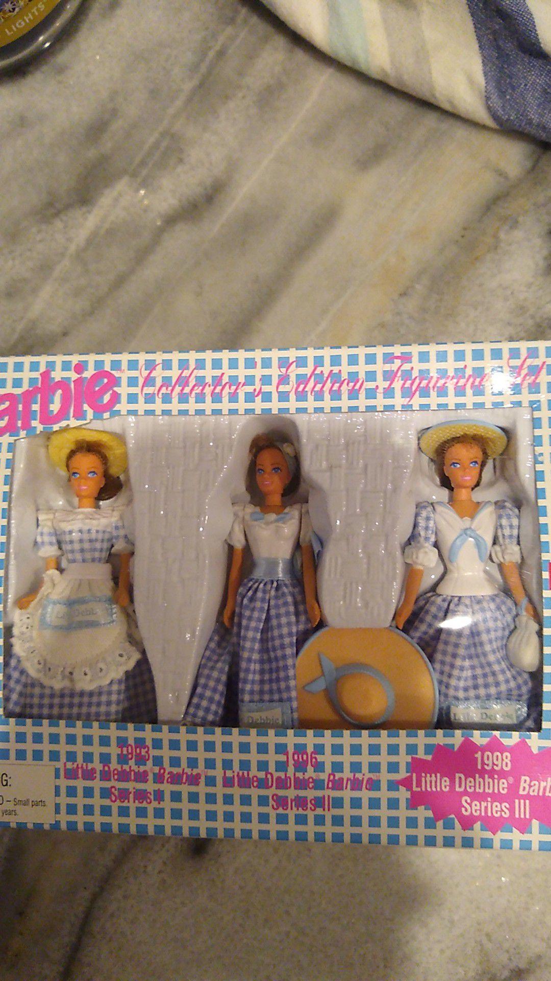 Barbie Collector's Edition Figure Set