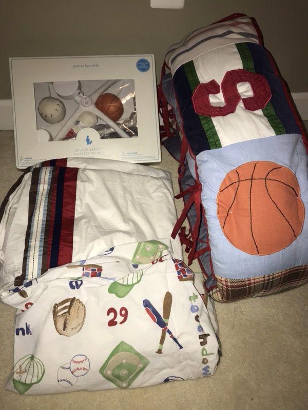 Pottery Barn Boy Crib Bedding Frederick Md