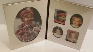 Silver Toned Collage Photo Frame for Sale in Midlothian, VA