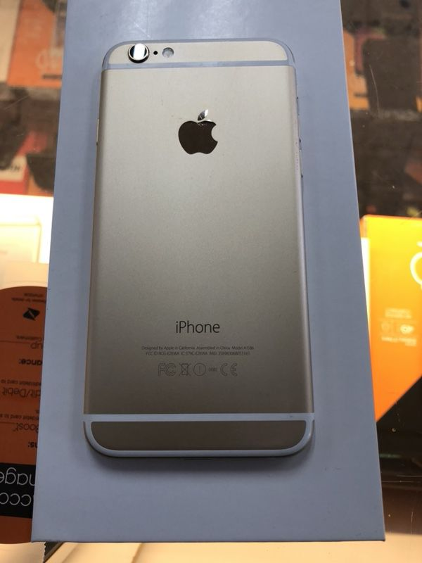 iPhone 6 16gb (gold) boost mobile $149 99 includes iPhone,first month and  activation fee!