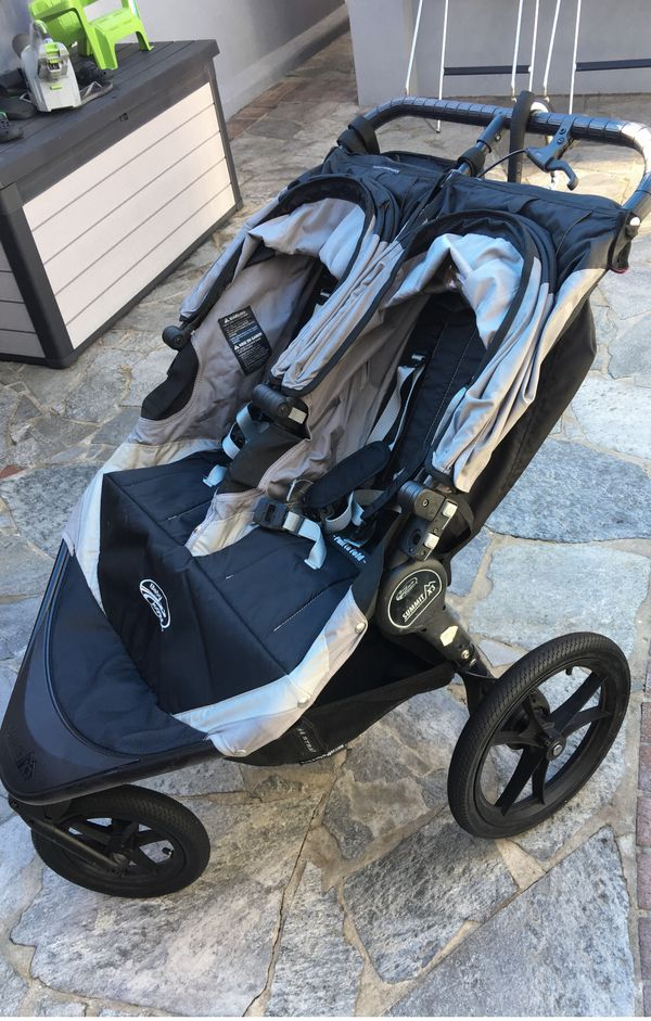 Baby Jogger 2014 Summit X3 Double Jogging Stroller Black Gray For Sale In San Leandro Ca Offerup
