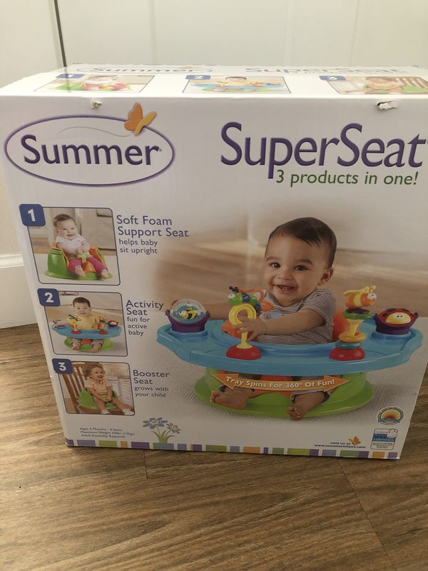 Booster and Activity seat Summer Infant NEW (Baby & Kids) in ...